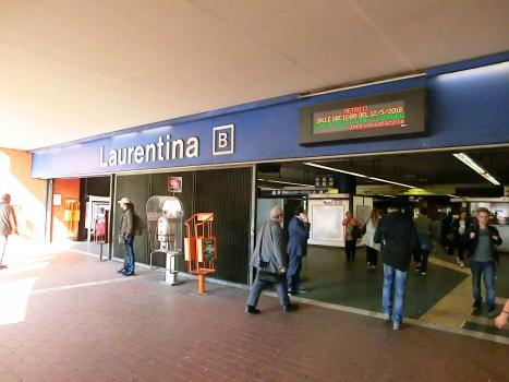 Metrobahnhof Laurentina