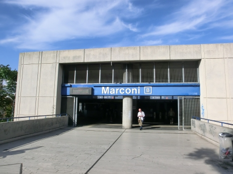Marconi Metro Station access