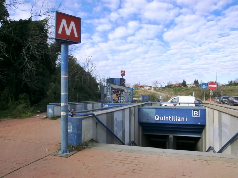 Quintiliani Metro Station access