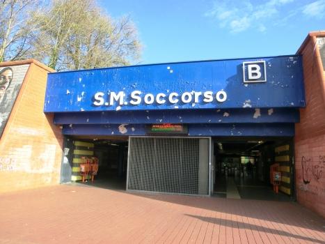 Santa Maria del Soccorso Metro Station, access