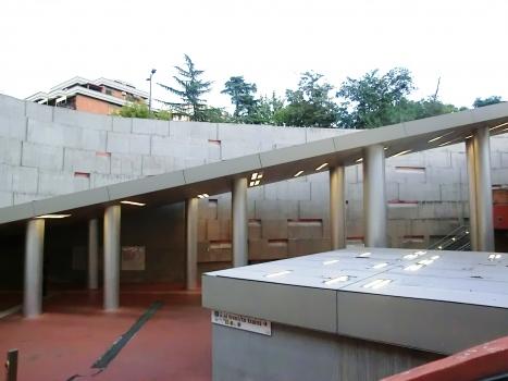 Sant'Agnese-Annibaliano Metro Station
