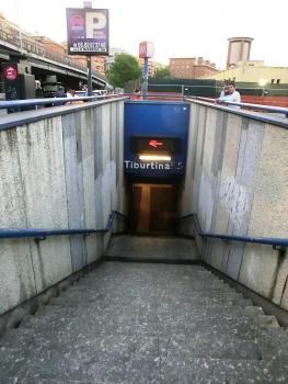 Tiburtina F.S. Metro Station access