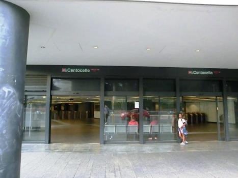 Metrobahnhof Parco di Centocelle