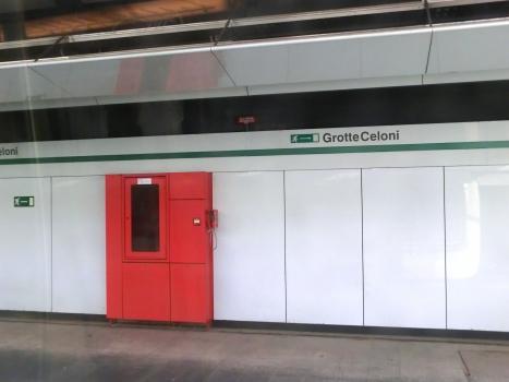 Station de métro Grotte Celoni