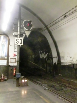 Parioli East Tunnel southern portal