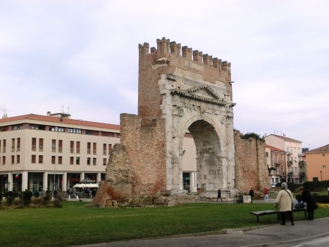 Augustusbogen von Rimini