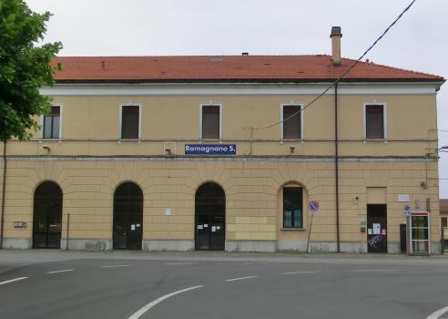 Bahnhof Romagnano Sesia