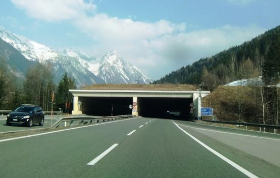 Ganderbach Tunnel western portals