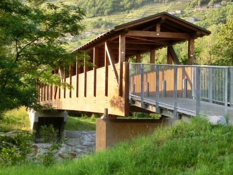 Geh- und Radwegbrücke Adda Cosio