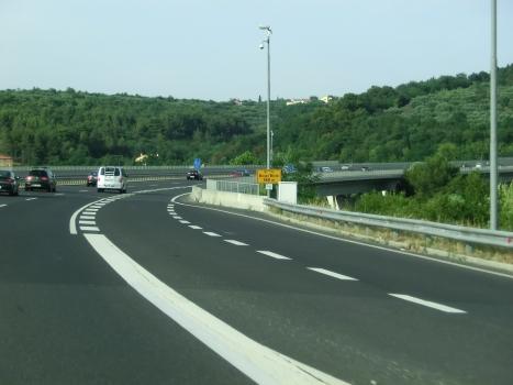 Talbrücke Bivje