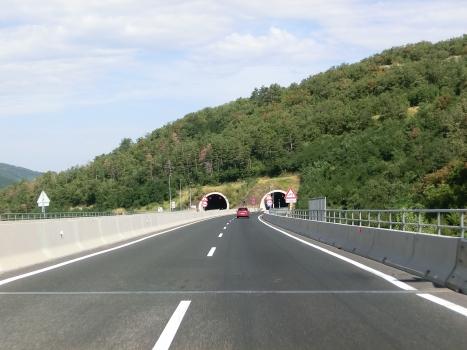 Barnica 2 Tunnel eastern portals