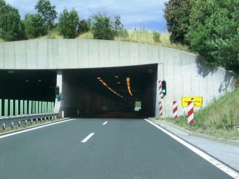 Vipavski Kriz Tunnel eastern portals