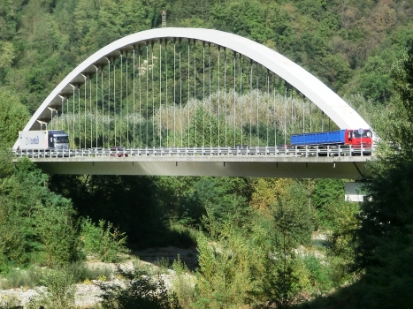 Serchiobrücke Piaggione