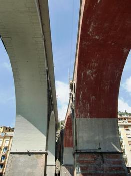 Pont ferroviaire sur le Sori, Pont sur le torrent de Sori