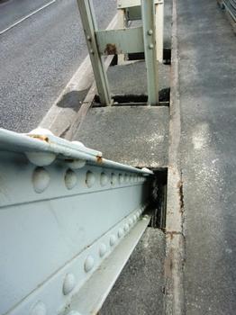 SS16 Po river bridge - detail