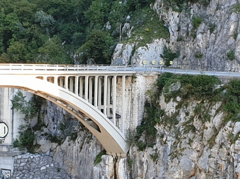Straßenbrücke Ravedis