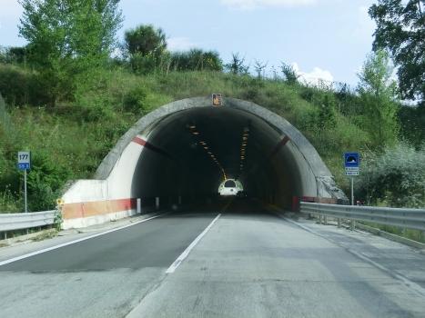 La Molina Tunnel northern portal