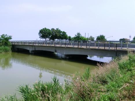 Ponte sul Canale di bonifica in destra Reno