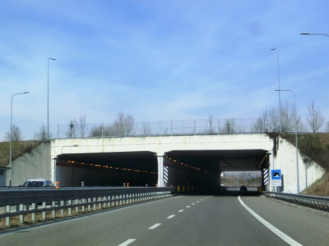 Santa Gianna Beretta Molla Tunnel southern portals