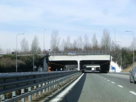 San Zenone Tunnel southern portals