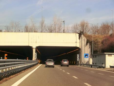 Villoresi Tunnel southern portals