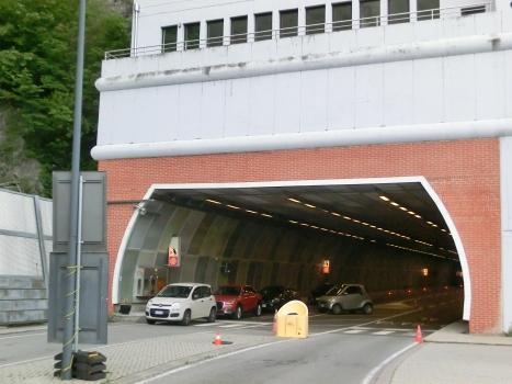 Dogana Tunnel western portal