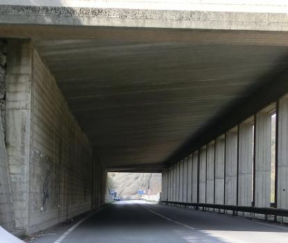 Straßentunnel Pietrabissara