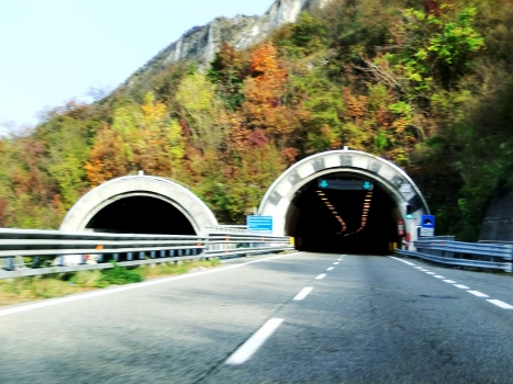 Fiumelatte Tunnel southern portals
