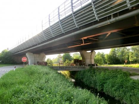 Hochstraßenbrücke Borgofrancone