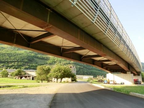 Straßenüberführung Prati del Bitto