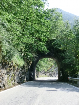 Arco Militare Tunnel eastern portal