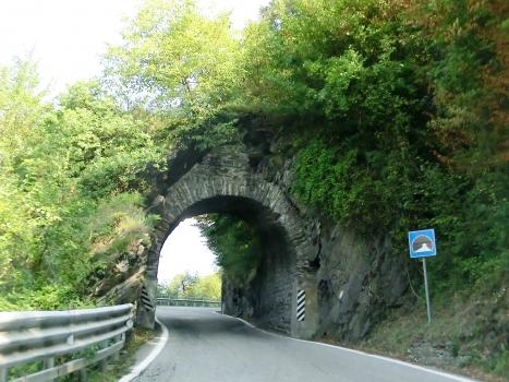 Arco Militare Tunnel western portal