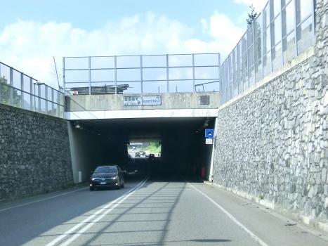 San Lucio Tunnel eastern portal