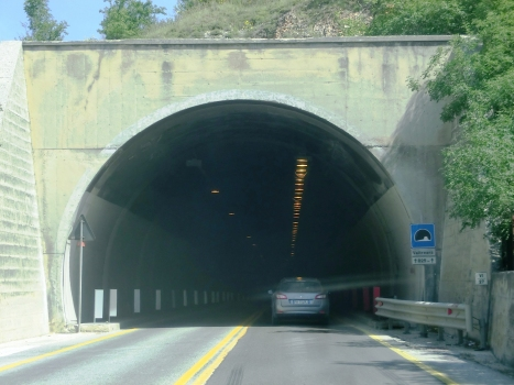 Valtreara Tunnel southern portal