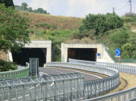 Colpersico Tunnel western portals