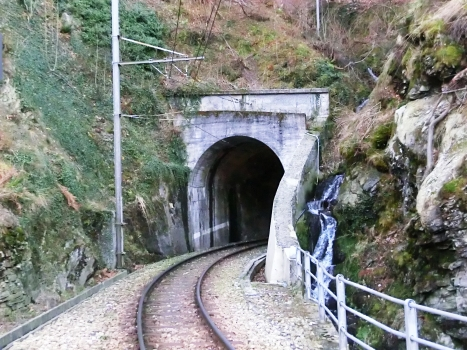 Pelcettino Tunnel northern portal