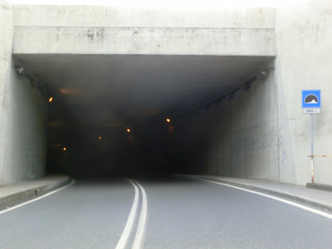 Tissoni Tunnel eastern portal
