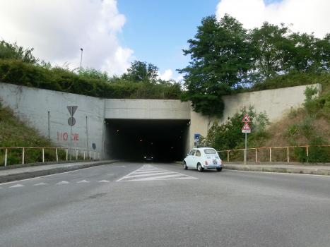 Tissoni Tunnel western portal