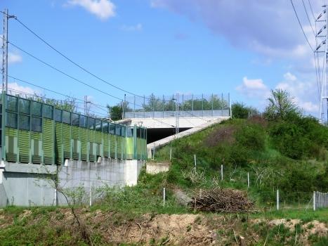 Bernate Rail Tunnel western portal