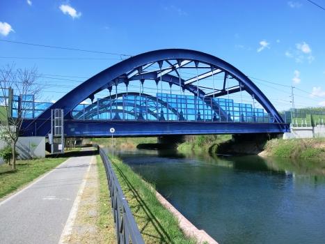 Pont ferroviaire sur le Naviglio Grande