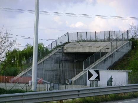 Rondissone Tunnel western portal