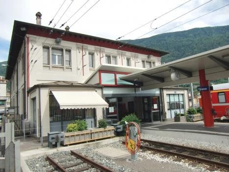 Tirano RhB Railway Station