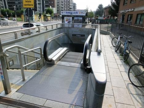 Station de métro Fermi