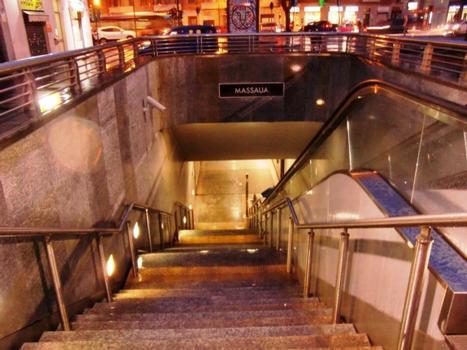 Station de métro Massaua