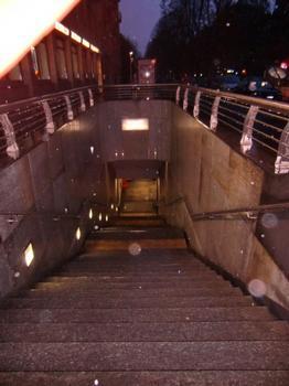 Station de métro Monte Grappa