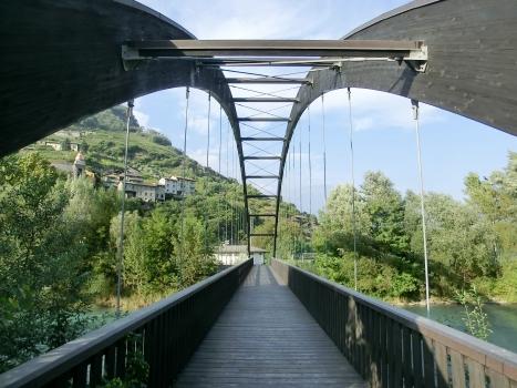 Fußgängerbrücke Tresenda