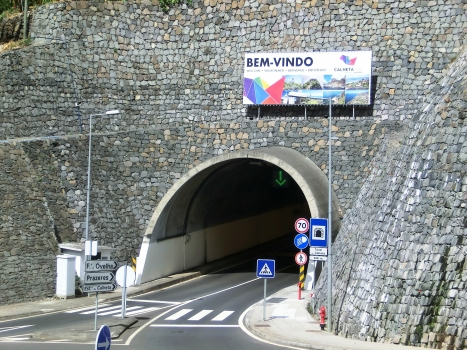 Calheta Tunnel eastern portal