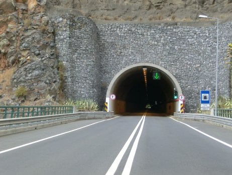 Jardim Pelado Tunnel eastern portal