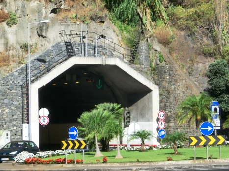 Ribeira Brava - Tabua Tunnel eastern portal