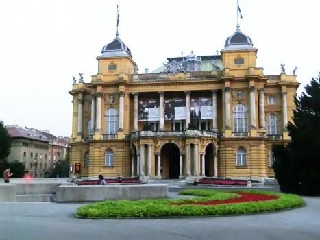 Kroatisches Nationaltheater in Zagreb